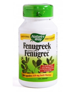 Fenugreek 610mg