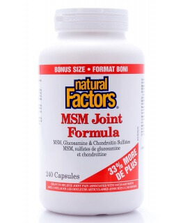 MSM Joint Formula