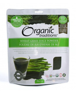 *Org.Wheat Grass Juice Powder